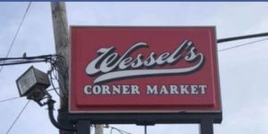 wessels corner shop il sign