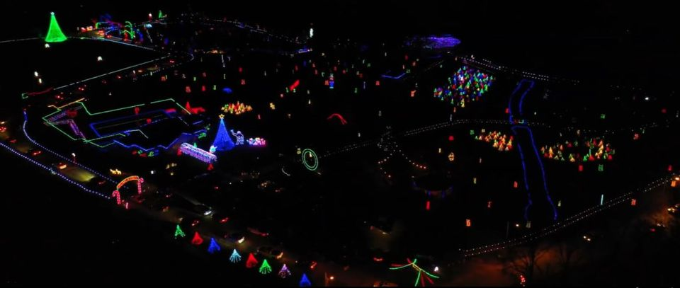 Carlyle IL Lights from above