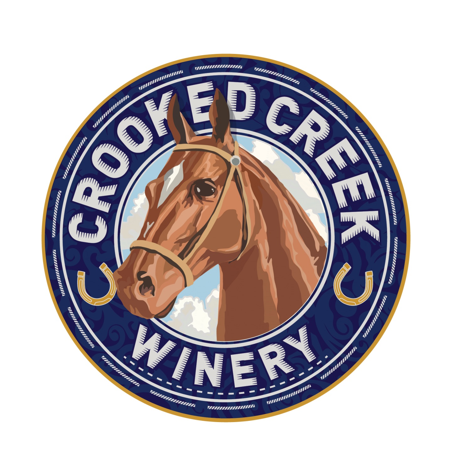 Logo for Crooked Creek Winery