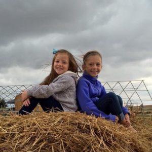 Kids at McConauchie Manor Farm
