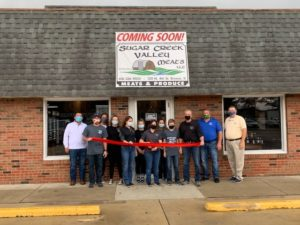 Ribbon Cutting for grand opening of new store in Breese IL