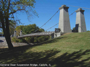 Image of General Dean Suspension Bridge